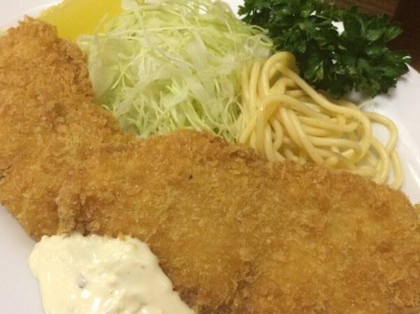 カレーヤ;魚フライ