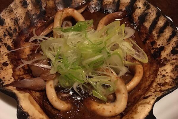 いかゴロ貝焼き