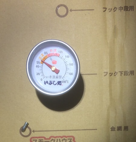 温度計測60℃