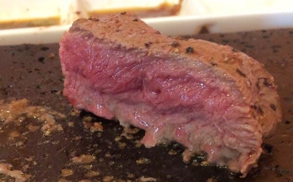 やっぱりステーキのレア