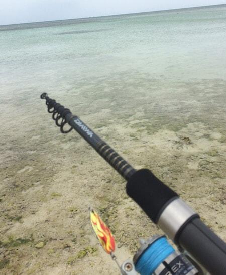 コンドイビーチで釣り