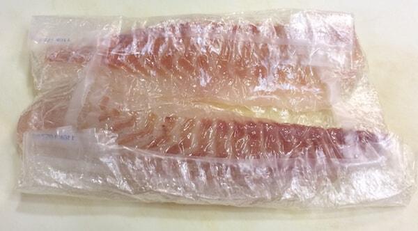 ピチットシートで鯛の刺身