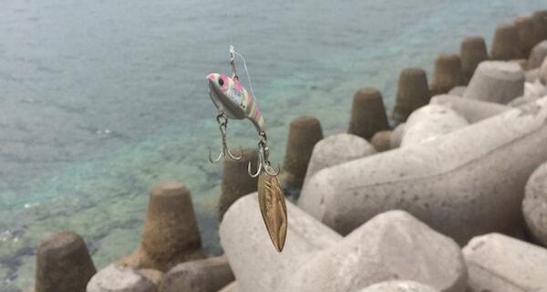 南ぬ島で釣り