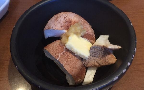 地物きのこガーリックバター焼き